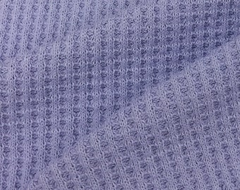 100% Cotton Thermal knit Fabric
