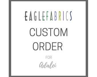 Custom order for Adalei | 42 yards of 7280R Graphite plus shipping