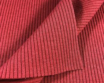 2x1 Cotton Stretch Rib