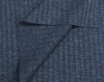 4x4 Textured Rib-Indigo