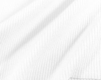 2x1 Cotton Rib with Spandex