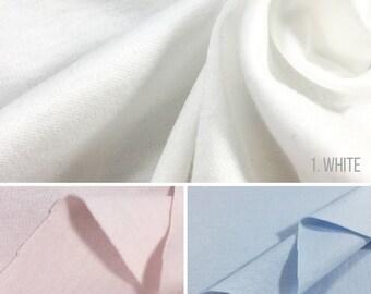 100% Mercerized Cotton Interlock Knit