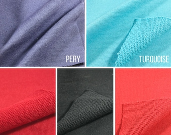 100% cotton French Terry Fabric