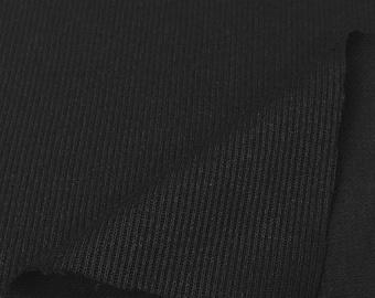 Poly/Cotton Flat Back Rib