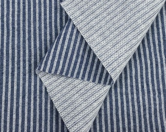 Cotton Indigo Knit Cord