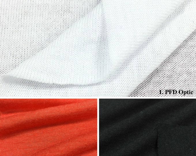 Jersey Knit Fabric By The Yard (Wholesale Price Available By The Bolt) USA Made Premium Quality - 2426PR - 1 Yard
