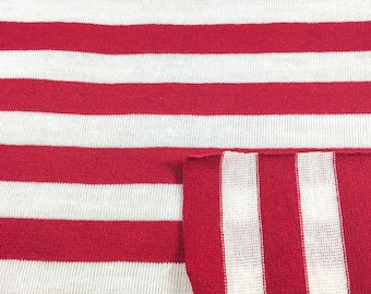Poly/Cotton Stripe Jersey