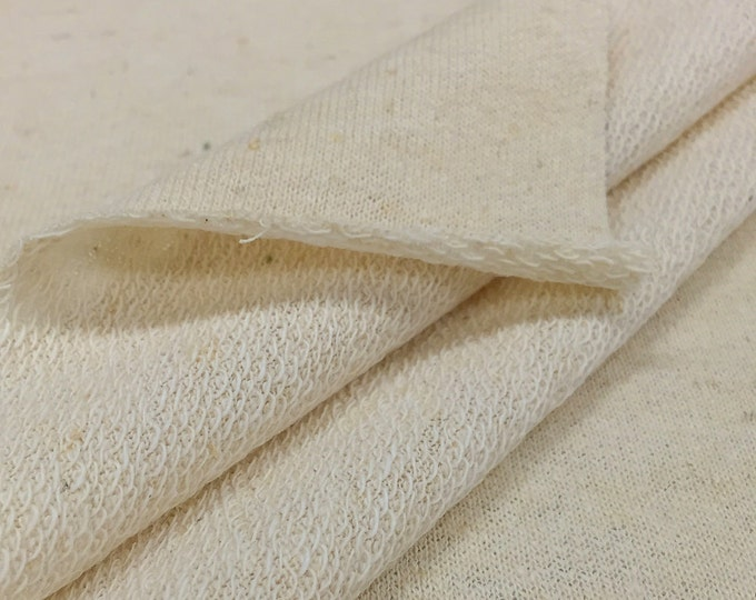 Hemp/Organic Cotton French Terry (Wider Width)