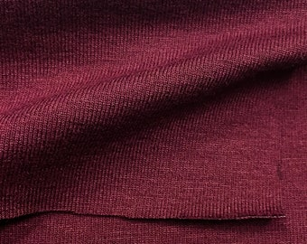 Low Pill High Twist Rayon/Lycra Jersey (Dress Weight)