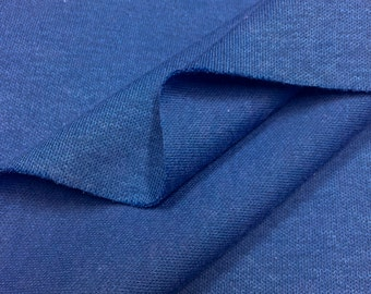 100% Cotton Interlock- Royal Blue