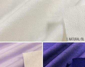Cotton Blend Double Face Jersey