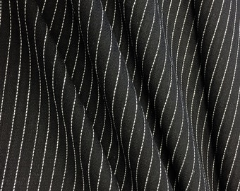 Pinstripe Suiting Woven