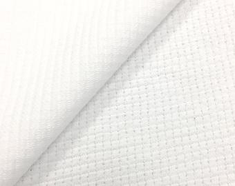 100% Cotton Waffle Weave Fabric