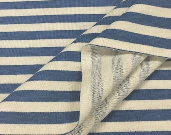 100% Cotton Printed Stripe Jersey