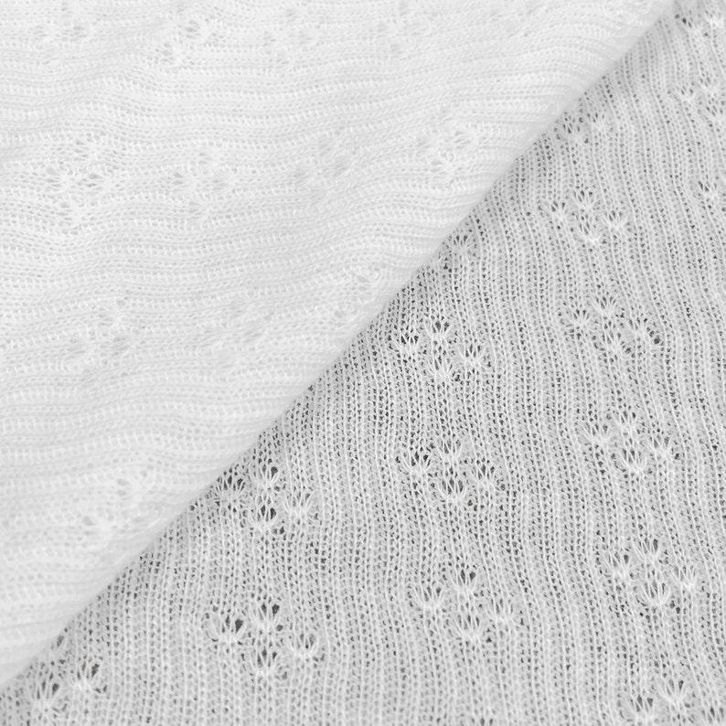 74e90df0be2 100% Cotton Sheer Pointelle | Etsy