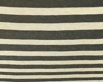 Lightweight Rayon Linen Stripe