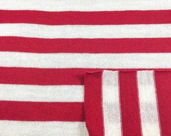 Poly/Cotton Stripe Jersey