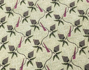 Grape Printed Rayon Jersey (Drapy)