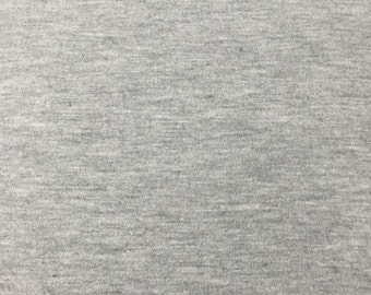 Heather Grey Rayon/Spandex