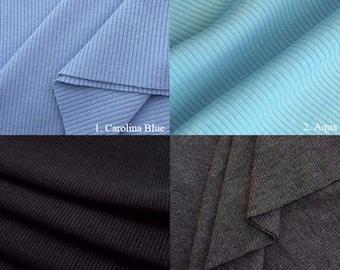 2x1 Poly/Cotton Rib