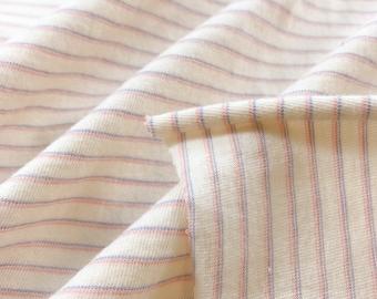 100% Organic Cotton Striped Jersey (T-shirt weight)