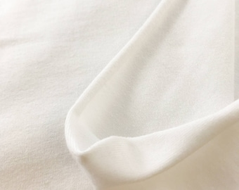 Recycled Poly/Organic Cotton Spandex Stretch Jersey