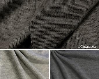 Poly Rayon Stretch Hacci Sweater Knit
