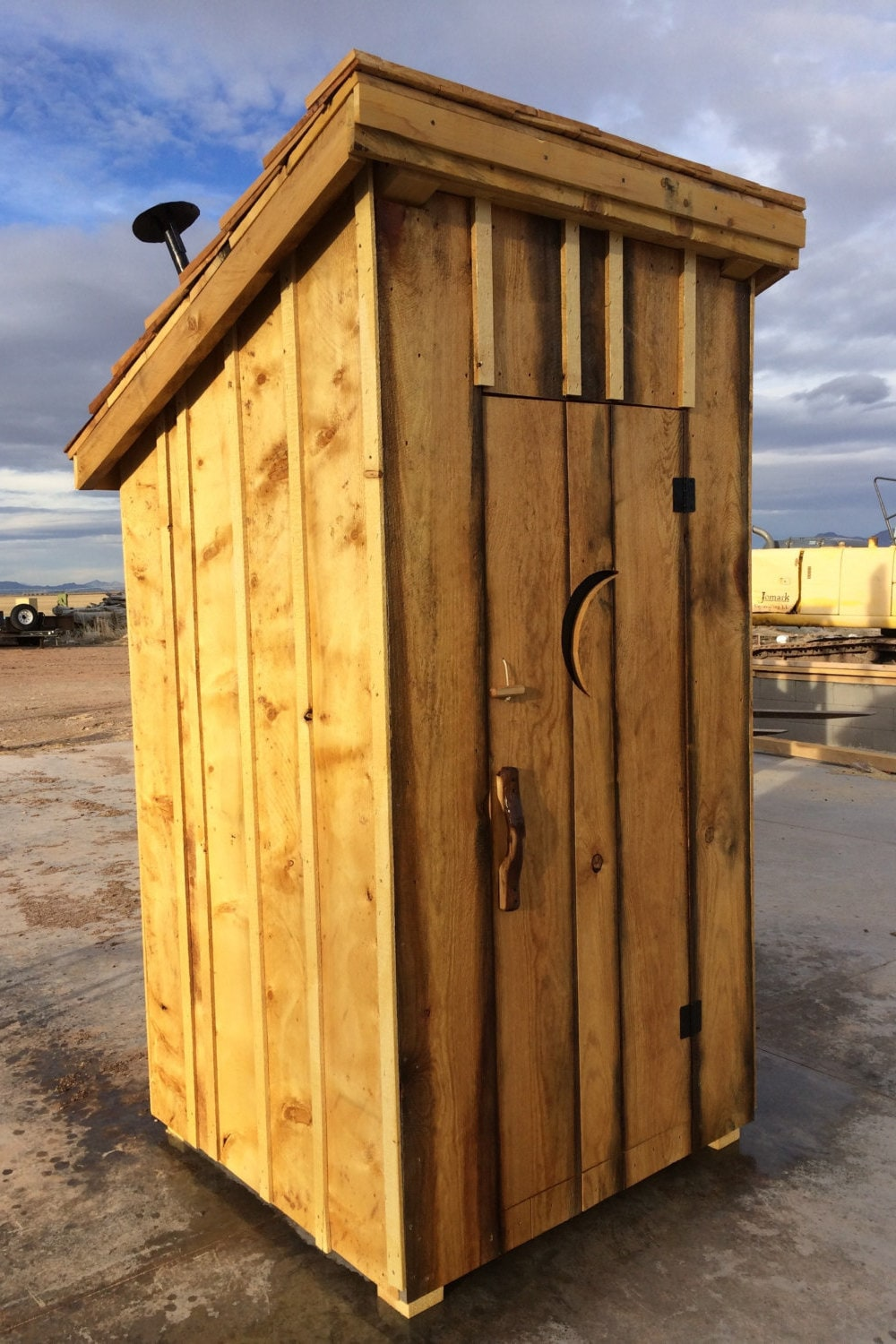 4 feet x 4 feet x 8 feet tall Outhouse Shed | Etsy