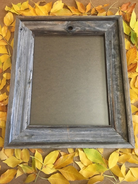 11 X 14 Inch Barn Wood Picture Frame Etsy