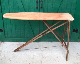 Wooden Ironing Board Etsy