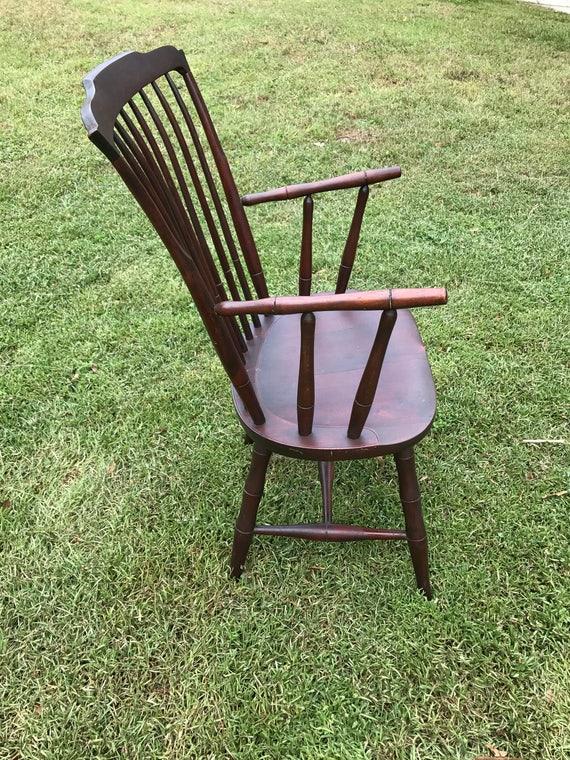 Windsor Chair Antique Nichols Stone Gardner MassAntique Chair Circa 1800s