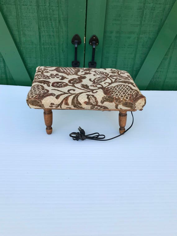 Wondrous Foot Stool Heating Pad Electric Foot Warmer Andrewgaddart Wooden Chair Designs For Living Room Andrewgaddartcom