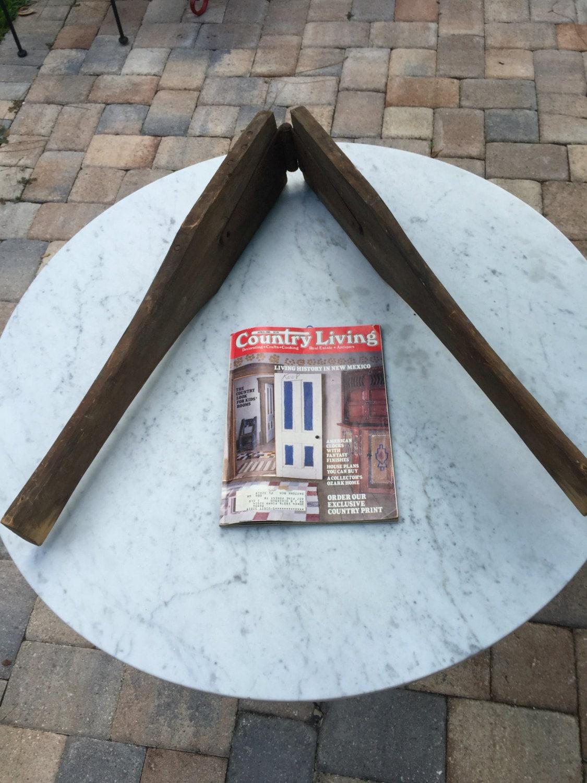 Antique wood crackling press | Etsy