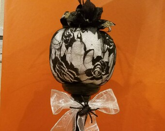 Beautiful White Pumpkin Decoration