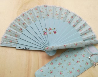 16 cm fan, made entirely by hand