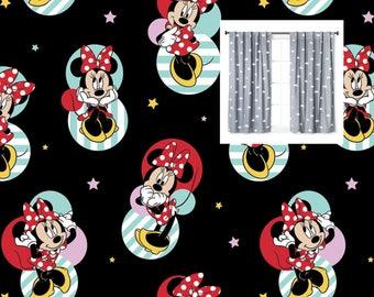Disney Minnie Mouse Curtains Girl Curtain Panels Princess Nursery Valance Toddler