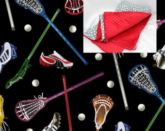 Lacrosse Blanket Sport Toddler Bedding Lacrosse Cotton Minky Blanket Boy  Girl Baby Crib Toddler Twin Full Queen Bedding Blanket Comforter c8f7c6feb