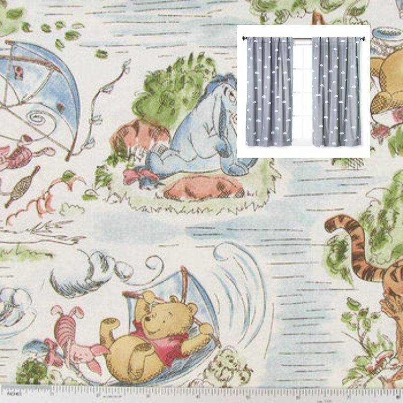 75993ac958b7 Disney Winnie The Pooh Curtains Winnie The Pooh Nursery