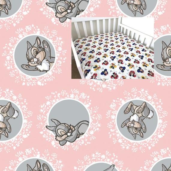 e7ec8afc9bfa8 Bambi Fitted Crib Sheet Bambi Nursery Boy Girl Bambi Bedding Sheet Flat  Sheet Changing Pad Cover Mini Crib Twin Full Queen Fitted Sheet