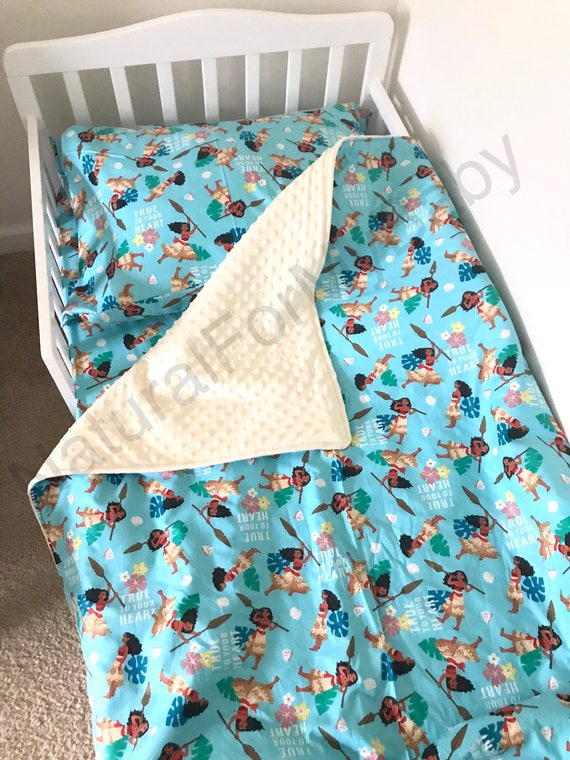 Disney Princess Moana Toddler Bedding Set Blanket Comforter Sheet Case Twin Or Crib Size You Pick