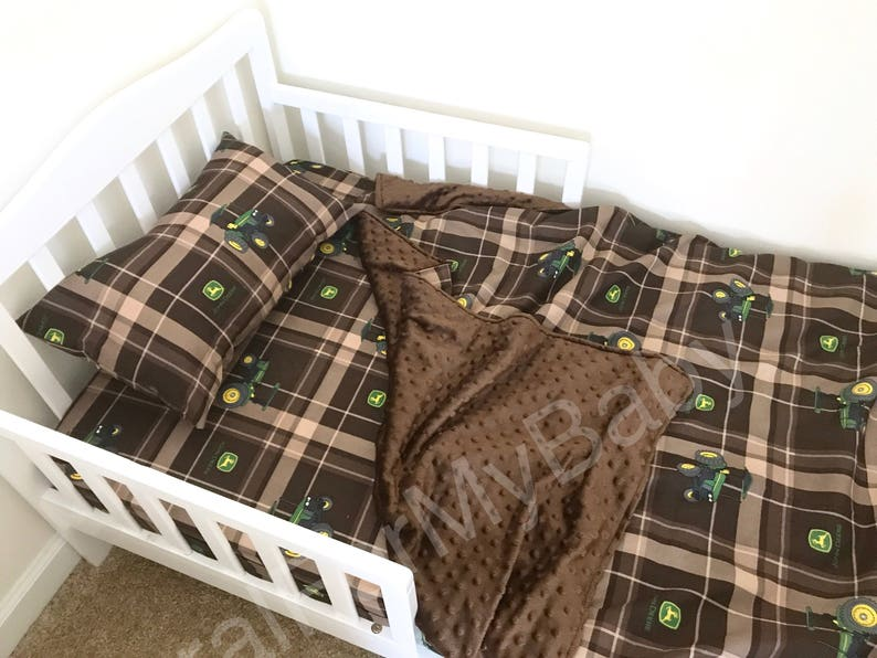 Tractor John Deere Toddler Bedding Set Blanket / Comforter ...