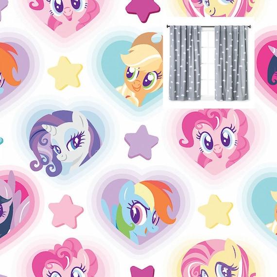 My Little Pony valance,girls room decor,MLP room decor,MLP curtain,girls valance,My Little Pony room,girls room,fun valance,pony valance