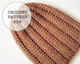Crochet Pattern / Basic Slouch No.1 Crochet Pattern / whiteowlcrochetco. Basic Slouch No.1 / WOC Basic Crochet Slouch