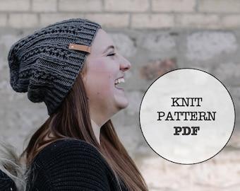 Knit Pattern / Tin Beanie / 7 Metals of Antiquity / Knit Picks Gloss DK / Whiteowlcrochetco / Hat Pattern / Beanie / Winter / Fall / Knit
