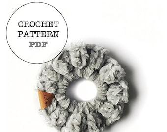 Crochet Pattern / Daisy Scrunchie Pattern / Whiteowlcrochetco Pattern / Scrunchie Pattern / WOC Pattern/ Crochet Scrunchie