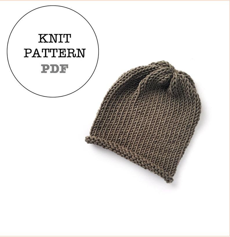 2a48b07c5f7 Knit Pattern   WOC Jameson Slouch Knit Pattern