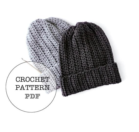 76c689a12dd Crochet Pattern   Basic Slouch No.2 Crochet Pattern