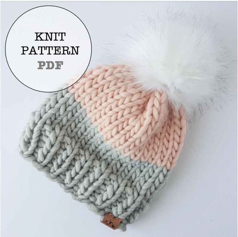 a7235851b33 Knitting Pattern   WOCxWAK Basic Beanie Knitting Pattern