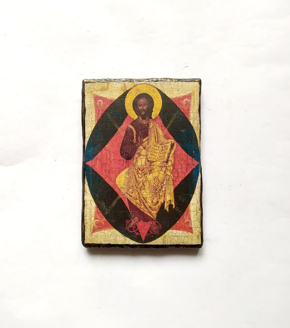 orthodox icon of lord jesus christ the savior исус христос спаситель