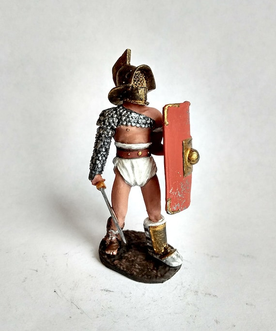 Painted Tin Toy Soldier Princess Diana 54mm 1//32